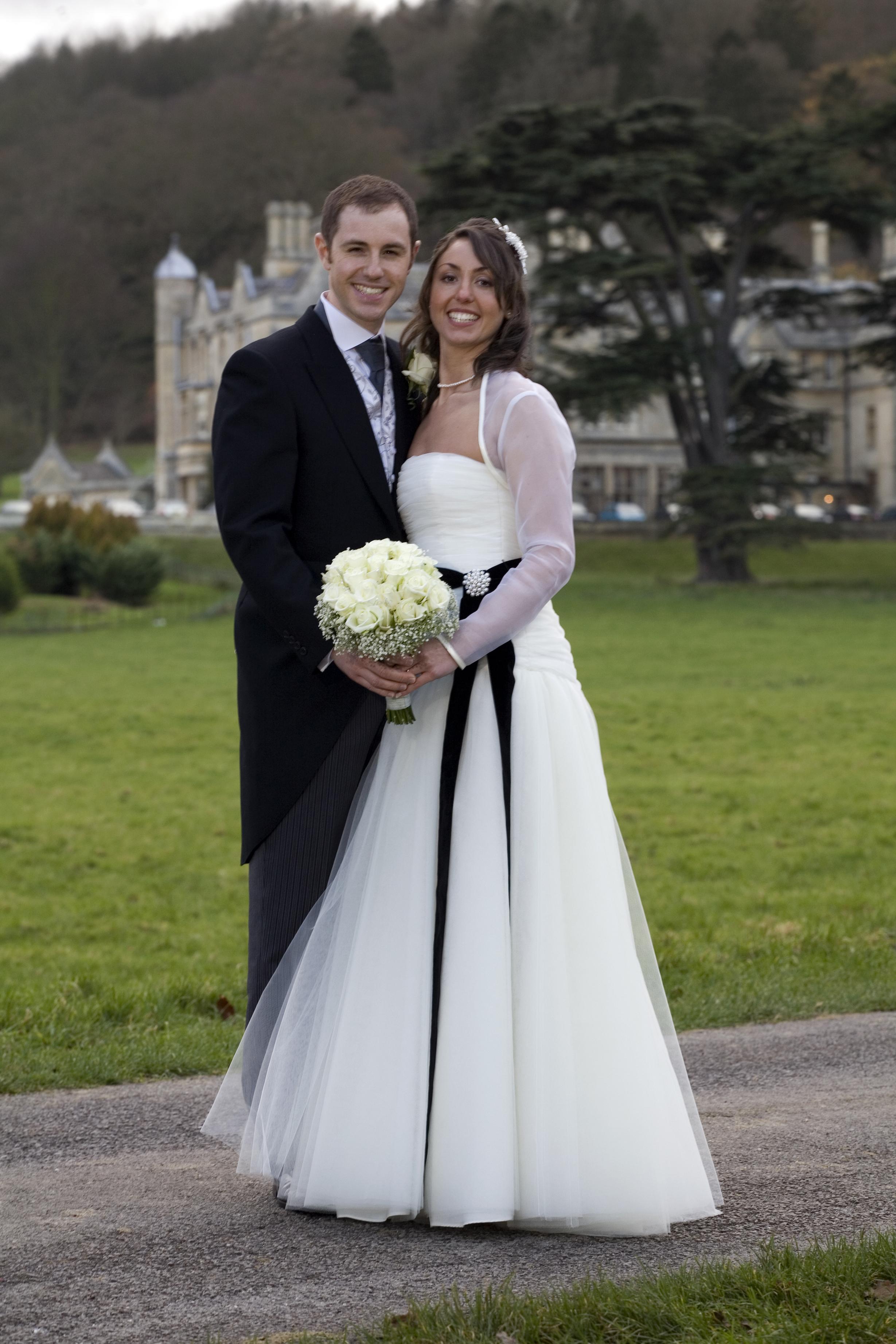 Real Bride: Stewart Parvin wedding dress/Cheltenham | cheltenham ...